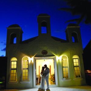 Beachfront wedding chapel at El Dorado Royale © Karisma Hotels & Resorts