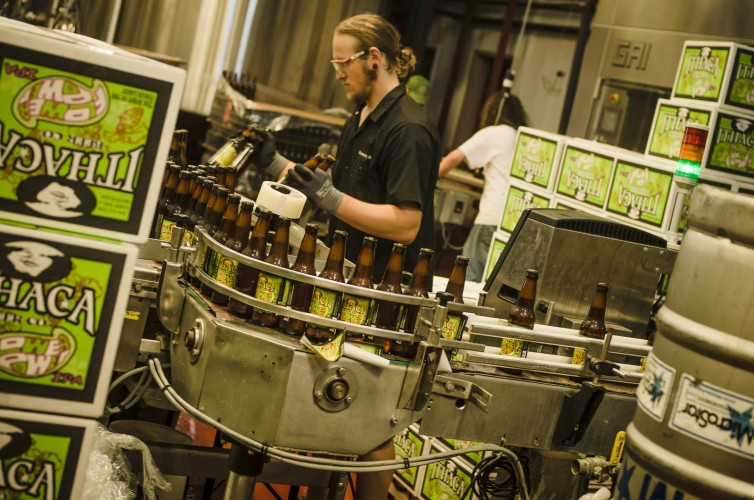Local Bottling Plant © Ithaca Beer Company