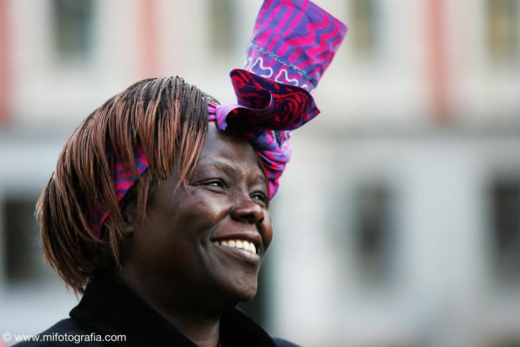 Wangari Maathai © Green Belt Movement | Mifotografia