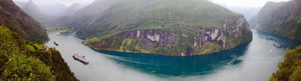 Geirangerfjord, Norway © Hdsidesign | Dreamstime