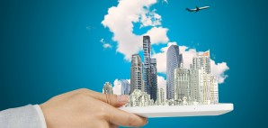 iPad city © Thampapon1 | Dreamstime
