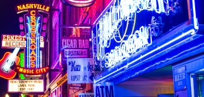 Lower Broadway, Nashville, Tennessee © Sean Pavone | Dreamstime