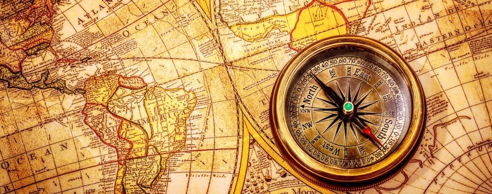 Vintage Map © Cookelma | Dreamstime