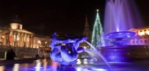 Christmas in Trafalgar Square, London © Chris Dorney | Dreamstime