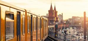 Oberbaumbridge, Berlin, Germany, Subway, Train, Metro, Rail, Public Transportation, Europe © Lasse Behnke | Dreamstime