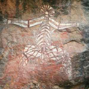 Aboriginal Rock Art, Kakadu National Park, Darwin, Australia © Imagex   Dreamstime 5895119