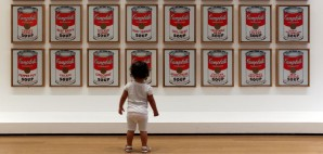 Campbells Soup Cans by Andy Warhol, Museum of Modern Art, New York City © Carlos Neto | Dreamstime