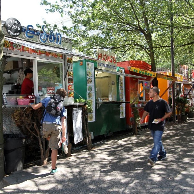 Best Food Carts Downtown Portland Or