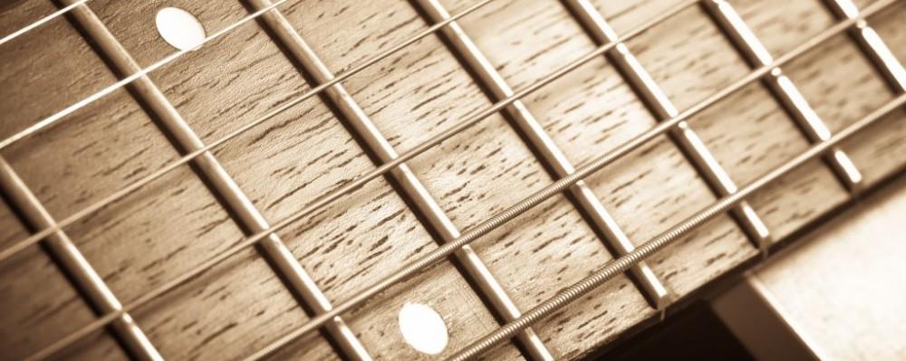 Guitar Fingerboard Strings Frets © Asafta | Dreamstime 33423165