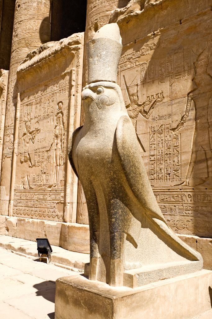 Horus, Temple of Edfu, Egypt © Shariff Che\' Lah | Dreamstime 5005204