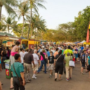 Mindil Beach Market, Darwin, Australia © Mg1964 | Dreamstime 43569979