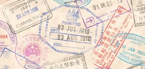 Passport Stamps © Fourleaflover | Dreamstime 42742937
