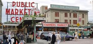 Pike Place Market, Seattle, Washington © Anderm   Dreamstime 30038355
