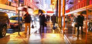 Rainy Streets of New York City © Brett Critchley | Dreamstime 27991242