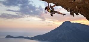 Rock Climber, Kalymnos Island, Greece © Photobac | Dreamstime
