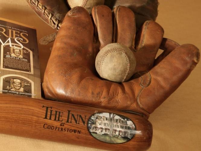 Baseball Glove Bat Ball, Cooperstown, New York © The Inn at Cooperstown | Jumping Rocks Photography