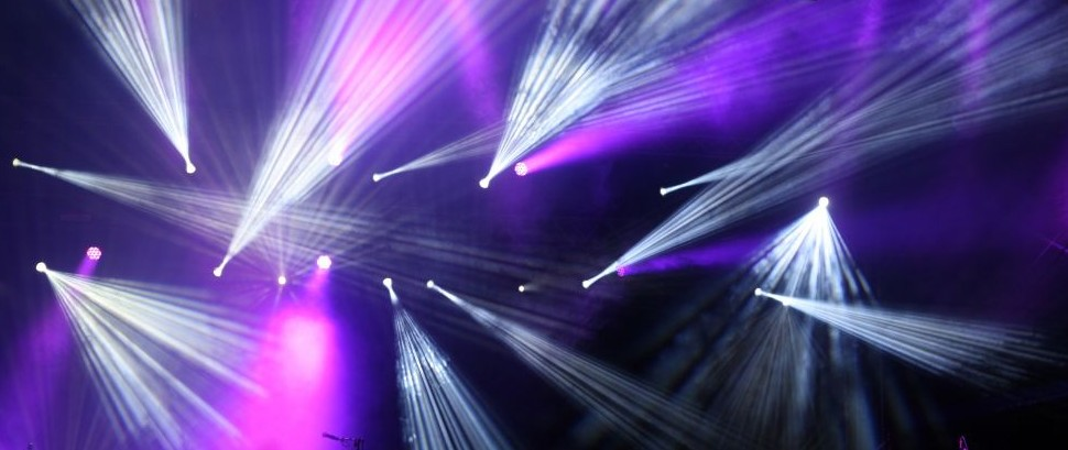 DJ Night Club Lights Lasers Rave Dance Music © Petr84 | Dreamstime 46514417