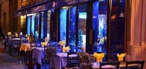French Restaurant in Quartier Latin, Paris © Xxlphoto | Dreamstime 22092017