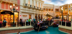 Grand Canal Shoppes at The Venetian Resort Hotel & Casino in Las Vegas, Nevada © Photoquest | Dreamstime 14801938