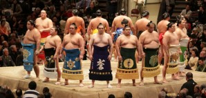 Opening Ceremony of the grand Sumo Tournament in Tokyo, Japan © J. Henning Buchholz | Dreamstime 10857789