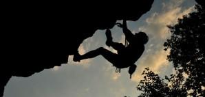 Rock Climber in Kamianiets-Podilskii, Ukraine © Olena Zaytseva | Dreamstime 47195477