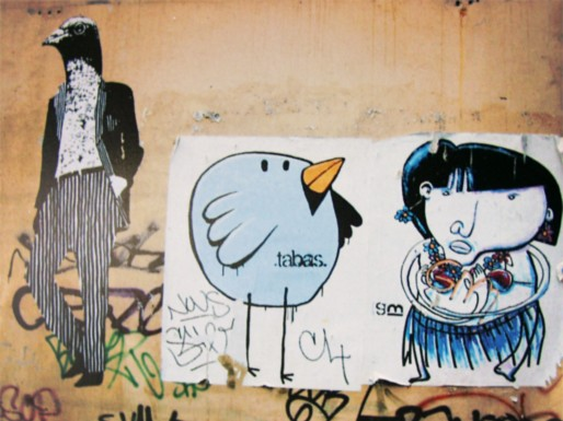 Street art on Rue Sainte, Marseille, France © Sweetsofa | Flickr