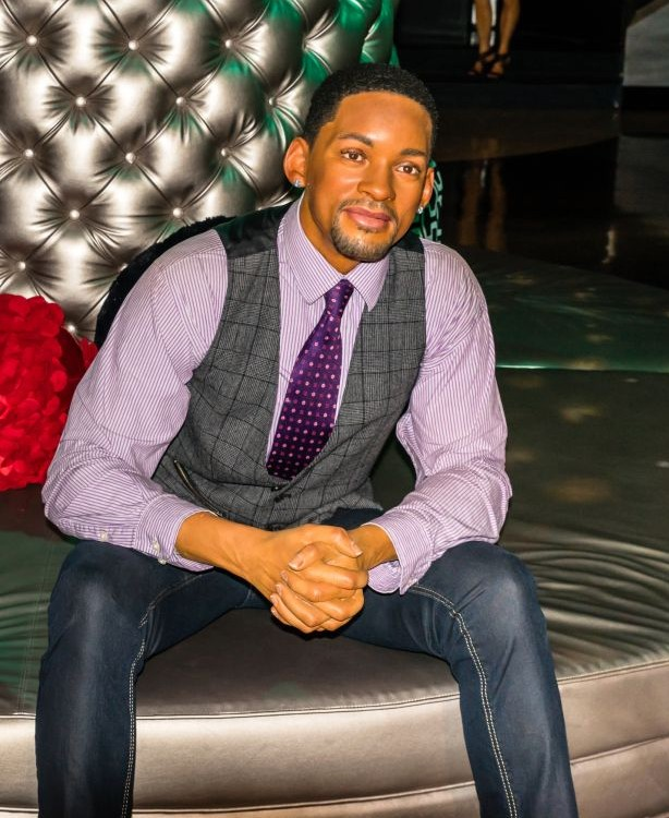 Will Smith at Madame Tussauds Wax Museum in Las Vegas, Nevada © Oliver Perez | Dreamstime 44343593