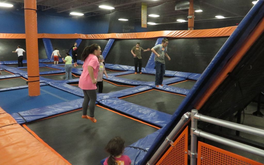 Get Jumping At Sky Zone Trazee Travel
