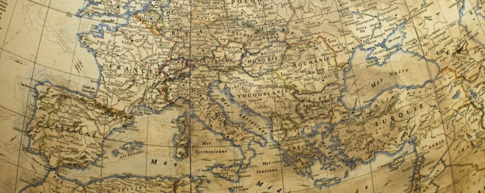 Antique Globe with Europe Map © Habrda | Dreamstime 22721702