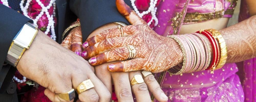 Hindu Indian Wedding Traditional Custom Rings Mehndi Kantilal Patel Dreamstime 31700723