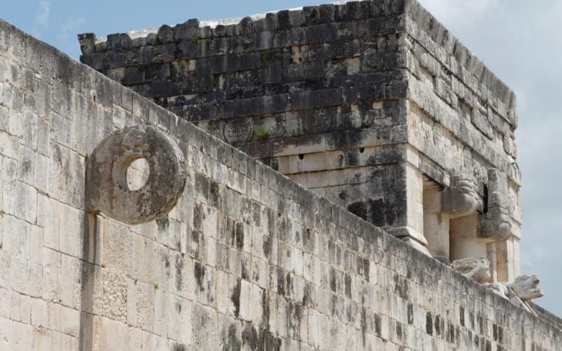 Mayan Ballcourt at Chichen Itza, Mexico © Afagundes | Dreamstime 3790861
