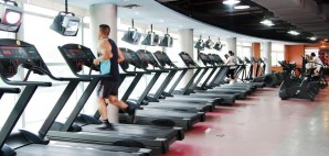 Modern Fitness Gym Equipment Machines Treadmills Jin'An District, Shanghai, China © Springdt313 | Dreamstime 24874486