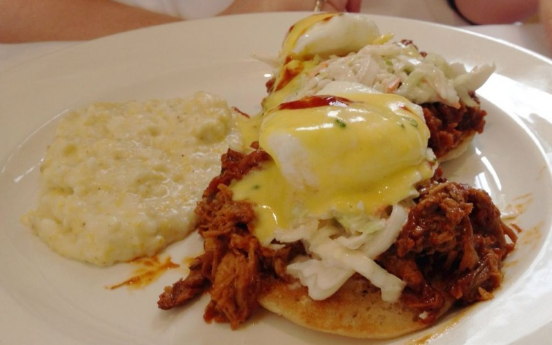 Pulled Pork Eggs Benedict at South City Kitchen © LWYang | Flickr