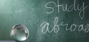 Study Abroad Chalkboard Glass Globe Books © Lim Seng Kui | Dreamstime 14880626
