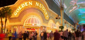 The Historic Golden Nugget Hotel & Casino on Fremont Street, Las Vegas, Nevada © Littleny | Dreamstime 40734284