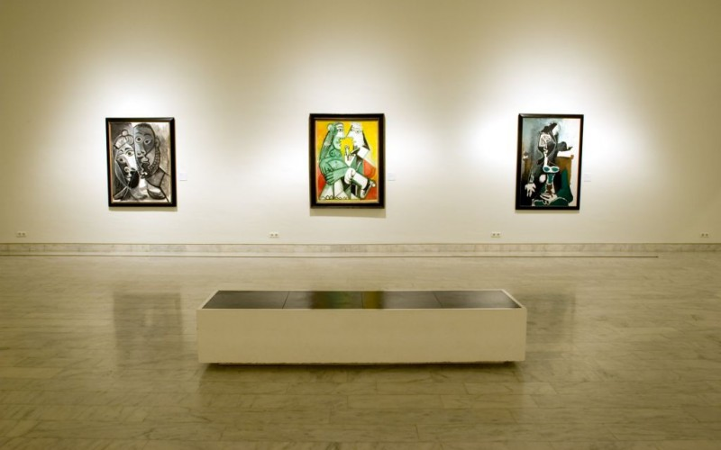 The Pablo Picasso Museum in Barcelona, Spain © MaxiSports | Dreamstime 11015136