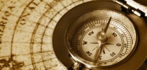 Vintage Map Compass Old © Mikael Damkier | Dreamstime 22542798