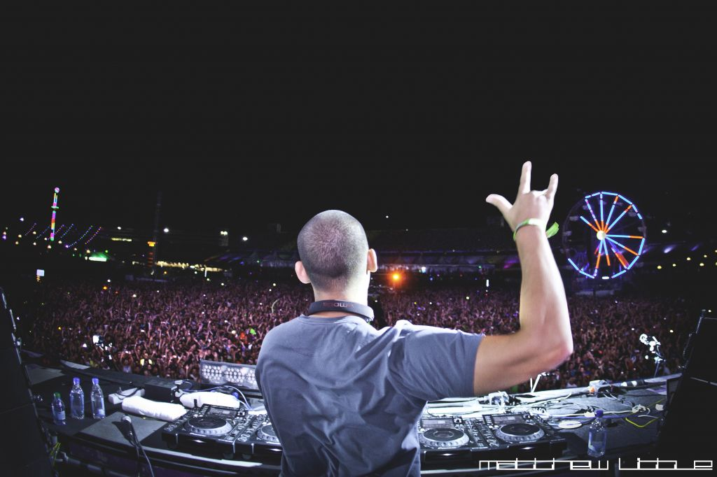 Afrojack at Electric Daisy Carnival in Las Vegas, Nevada © Sara Cooper | Flickr