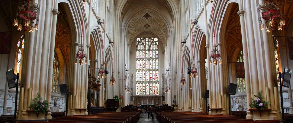 Bath Abbey in Somerset, England © Mark Eastment | Dreamstime 8517825