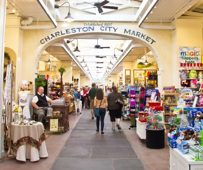 Charleston City Market, South Carolina © Oseland | Dreamstime 23355578