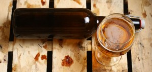 Craft Beer Bottle Glass Dirty Wooden Crate © Kirill Zmurciuk | Dreamstime 49585519