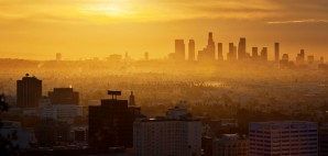 Los Angeles Skyline at Sunrise, California © Konstantin Sutyagin | Dreamstime 23374409