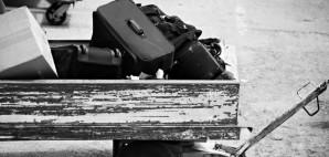 Lost Airplane Luggage Wagon Baggage © Alptraum | Dreamstime 1058338