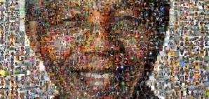 Nelson Mandela Macro Image © Babak Fakhamzadeh   Flickr