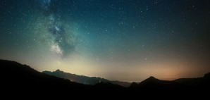 Night Sky Stars and Mountains © Giovanni Triggiani | Dreamstime 50461387
