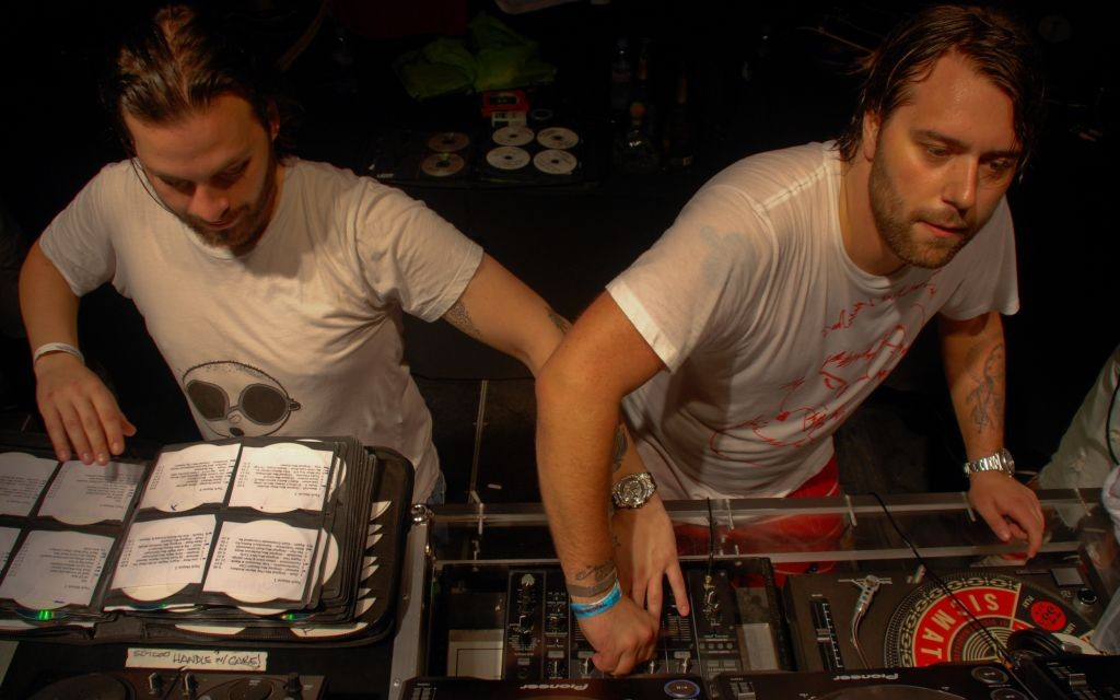 Steve Angello & Sebastian Ingrosso of Swedish House Mafia © Vincent Escudero | Flickr