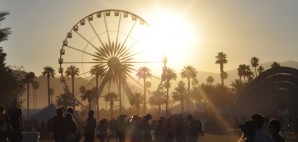 Sunset on the Coachella Valley Music & Arts Festival, Indio, California © Jason Persse | Flickr