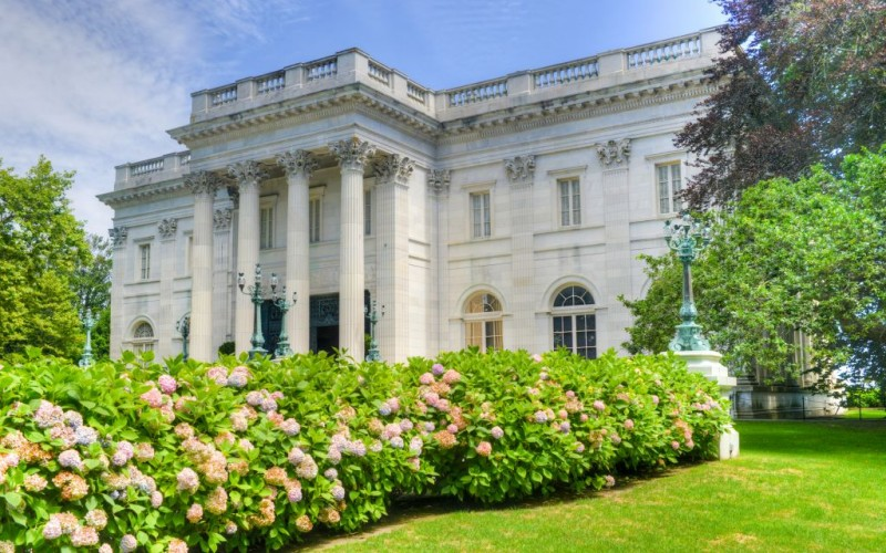 The Marble House, a Gilded Age Mansion of Newport, Rhode Island © Demerzel21 | Dreamstime 50460974
