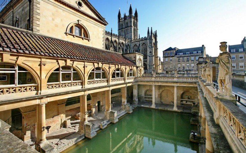 The Roman Baths of Bath in Somerset, England © Andrew Emptage | Dreamstime 20775332