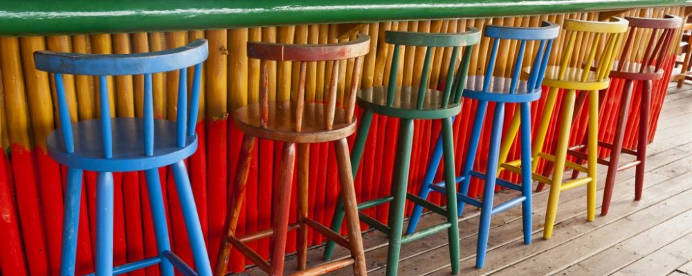 Appealing Colorful Barstools Contemporary - Best inspiration home ...